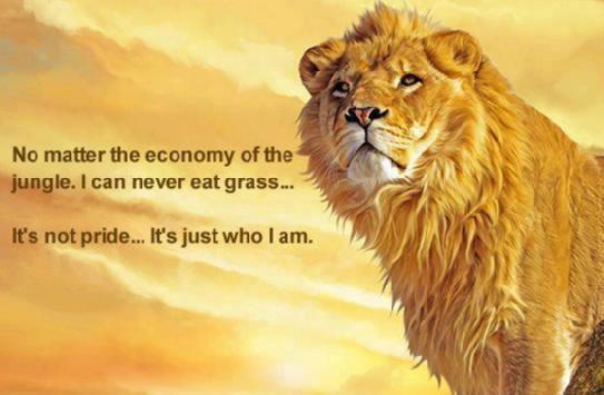 The Real Lion.